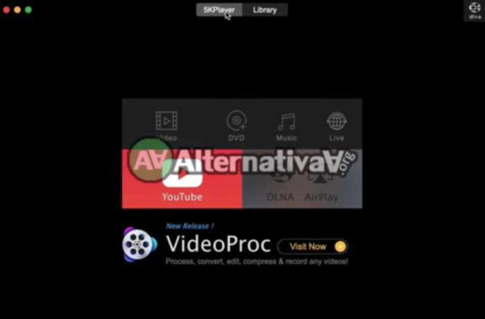 5KPlayer alternativa de WinDVD