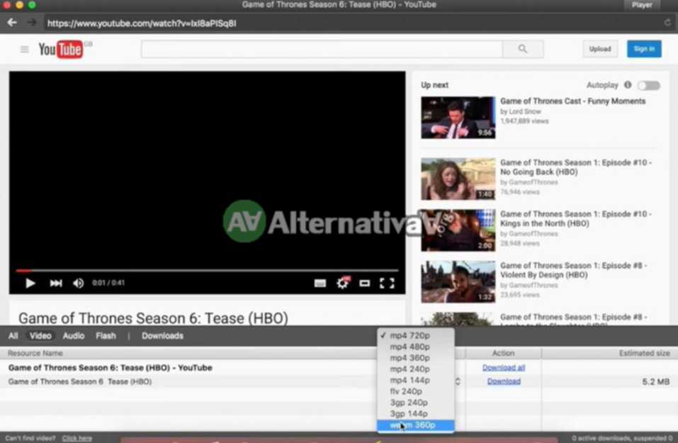 Elmedia Player alternativa de WinDVD