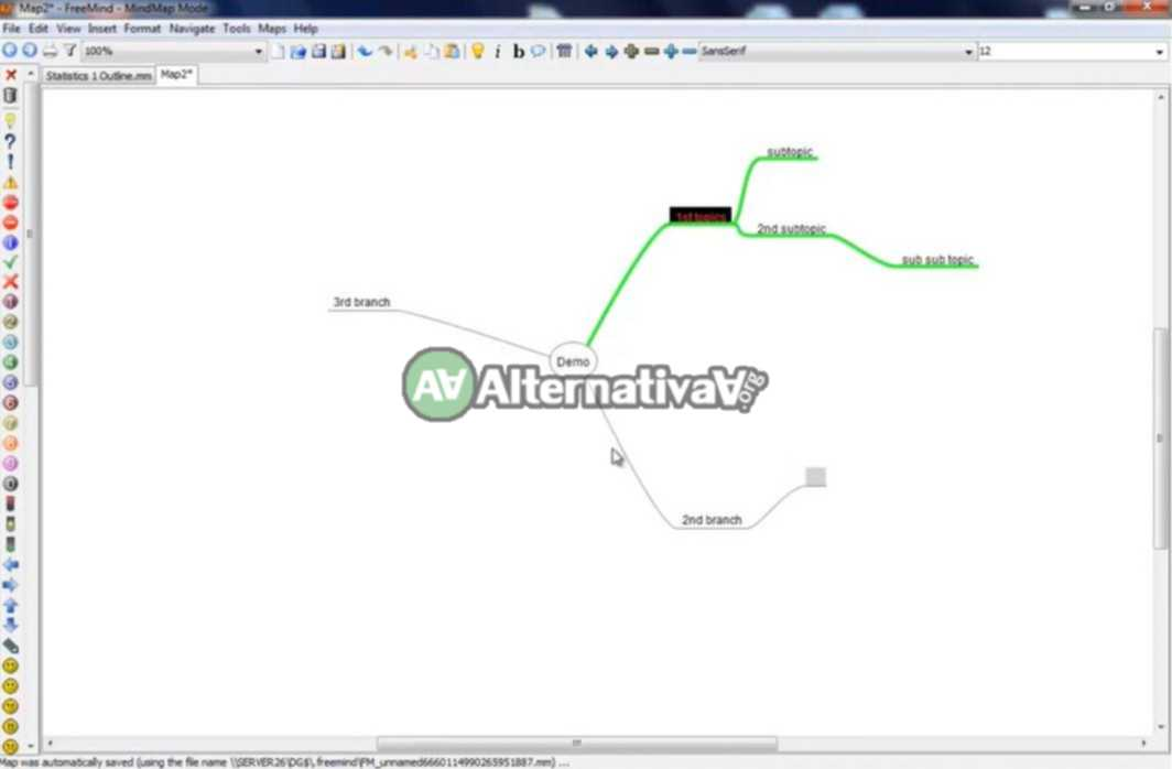 Alternativa a MSProject -> FreeMind
